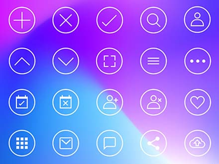 32 Free Interface Icons