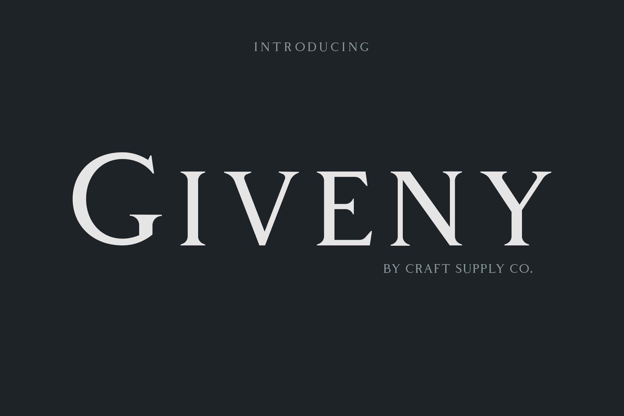 Giveny Font