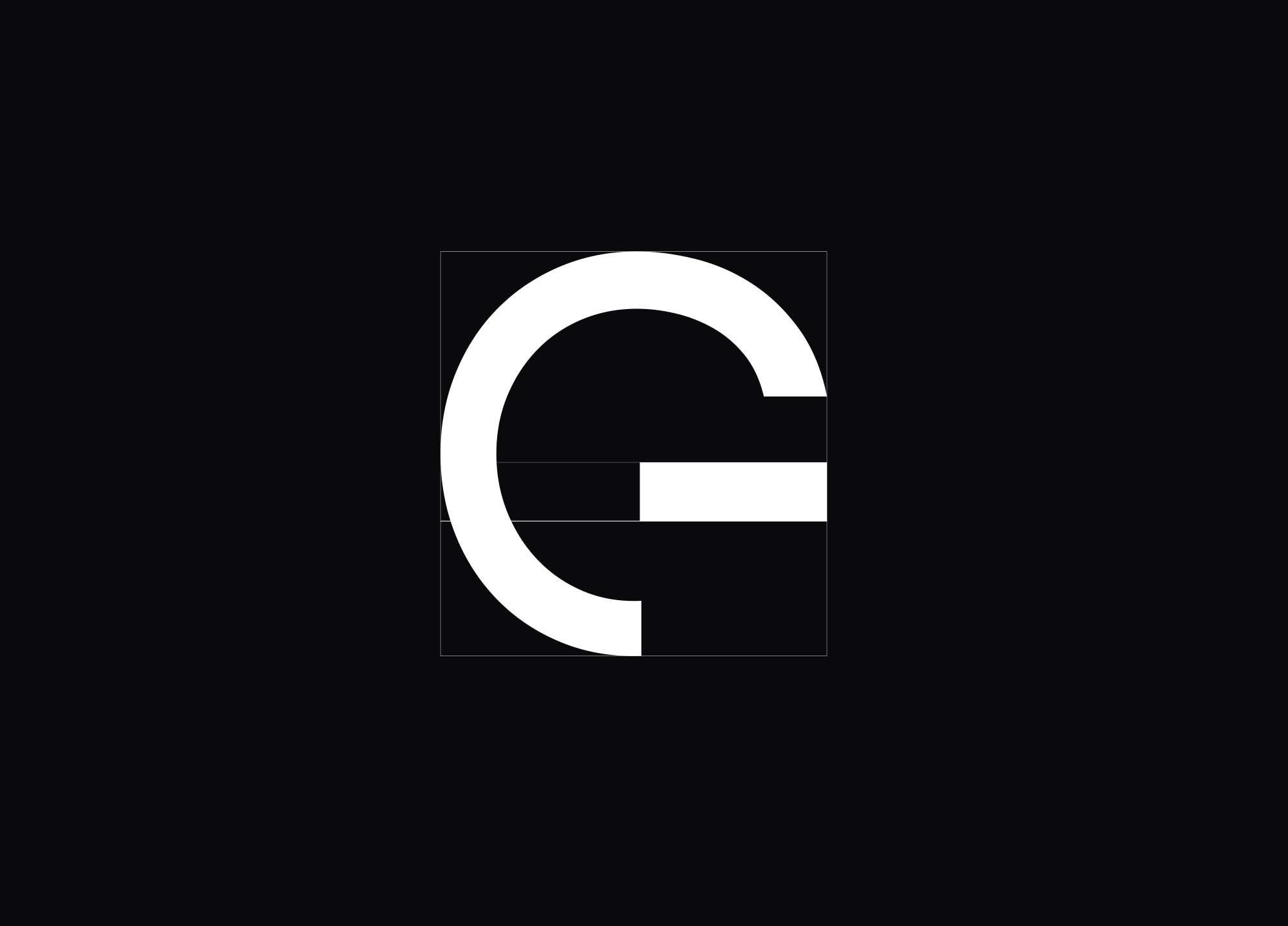 Grey Font Letter