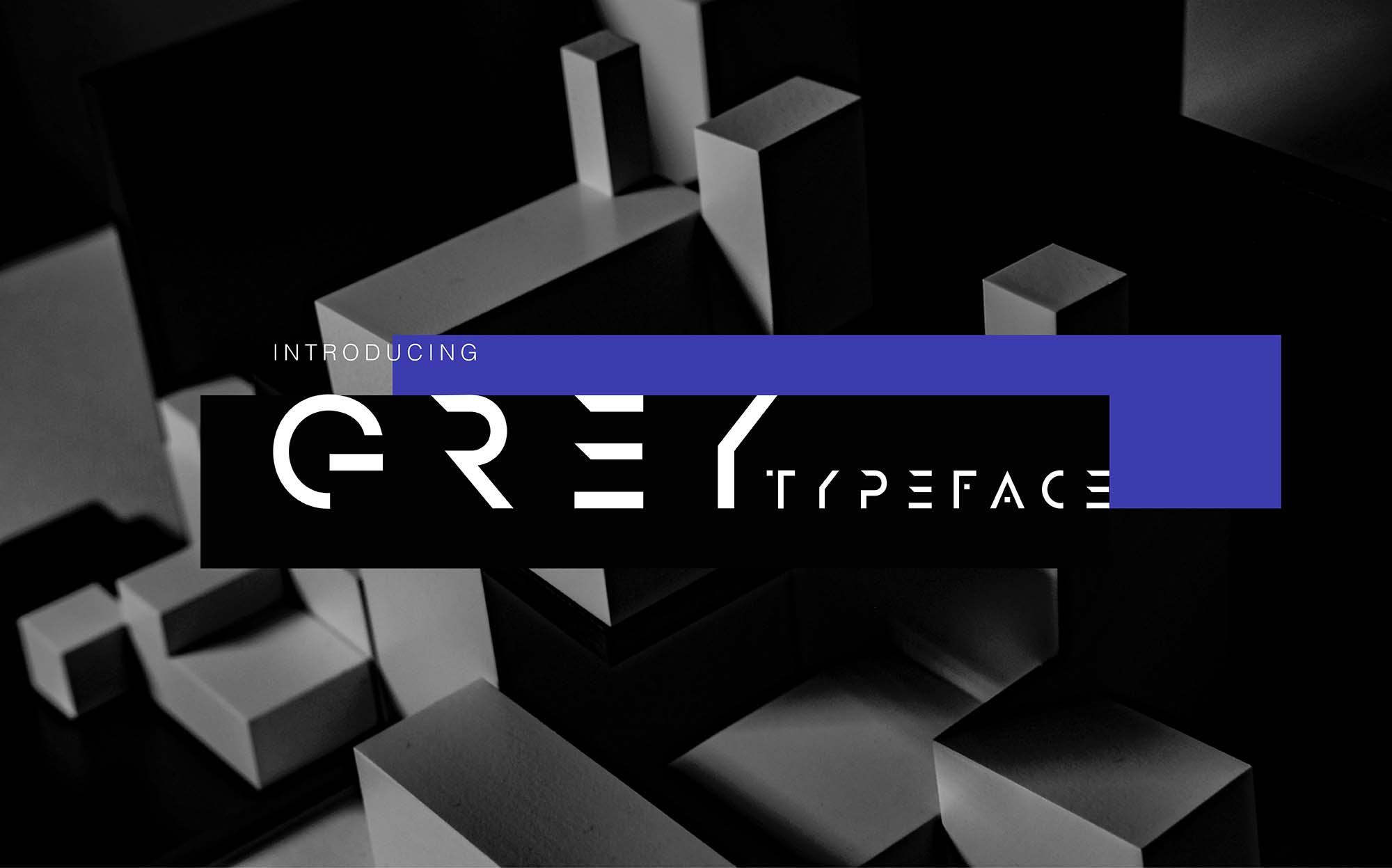 Grey Font