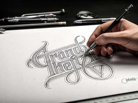 Hand Drawn Mockup
