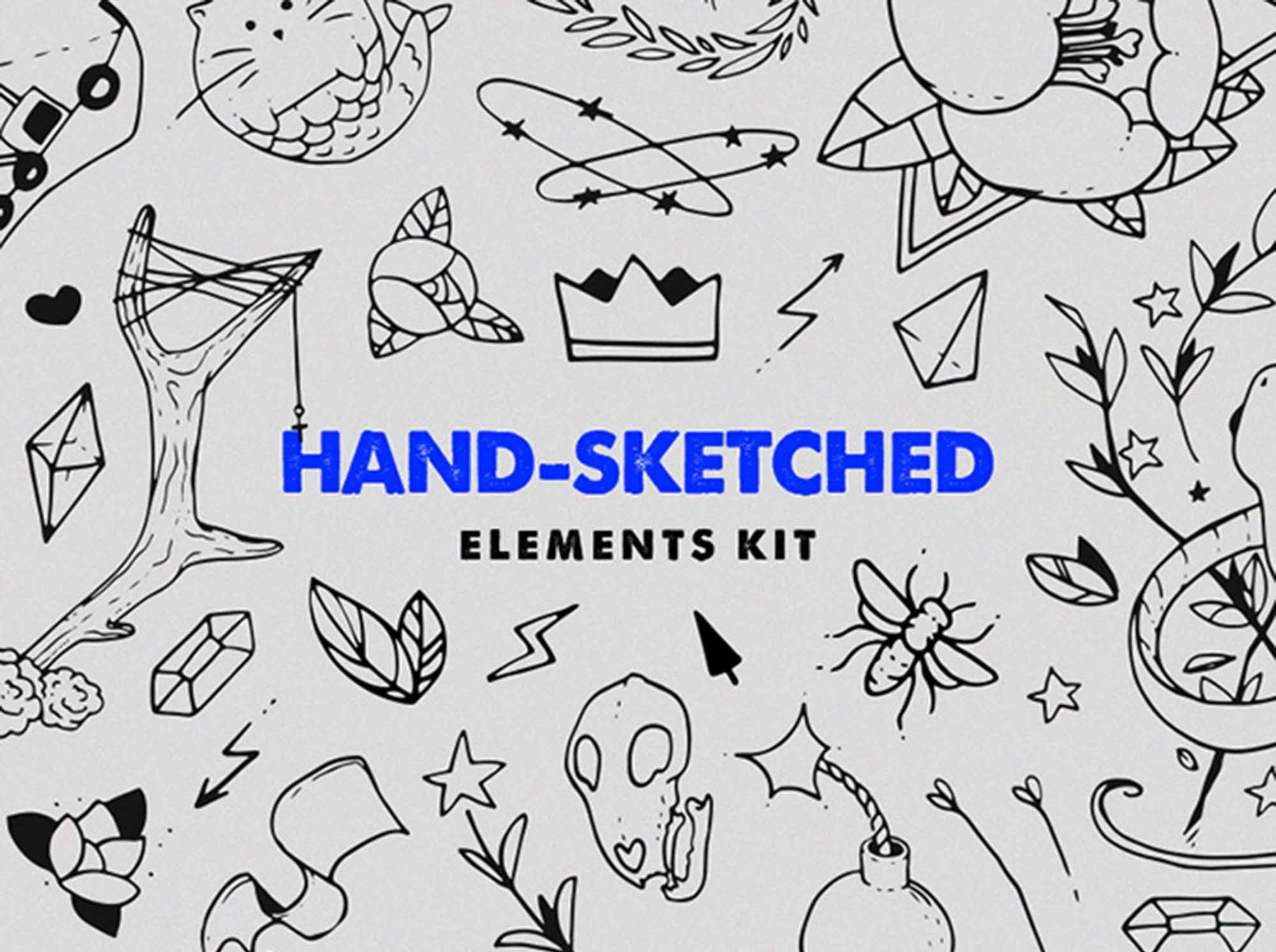 Hand-Sketched Elements