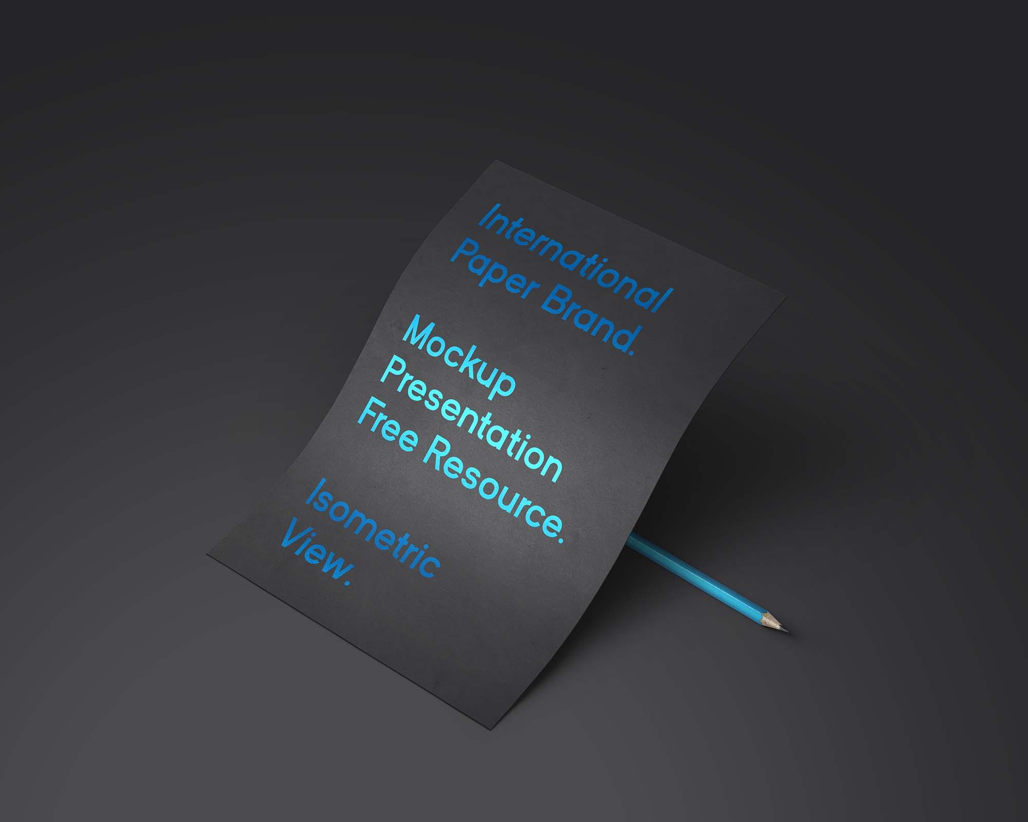 International Paper Branding Mockup
