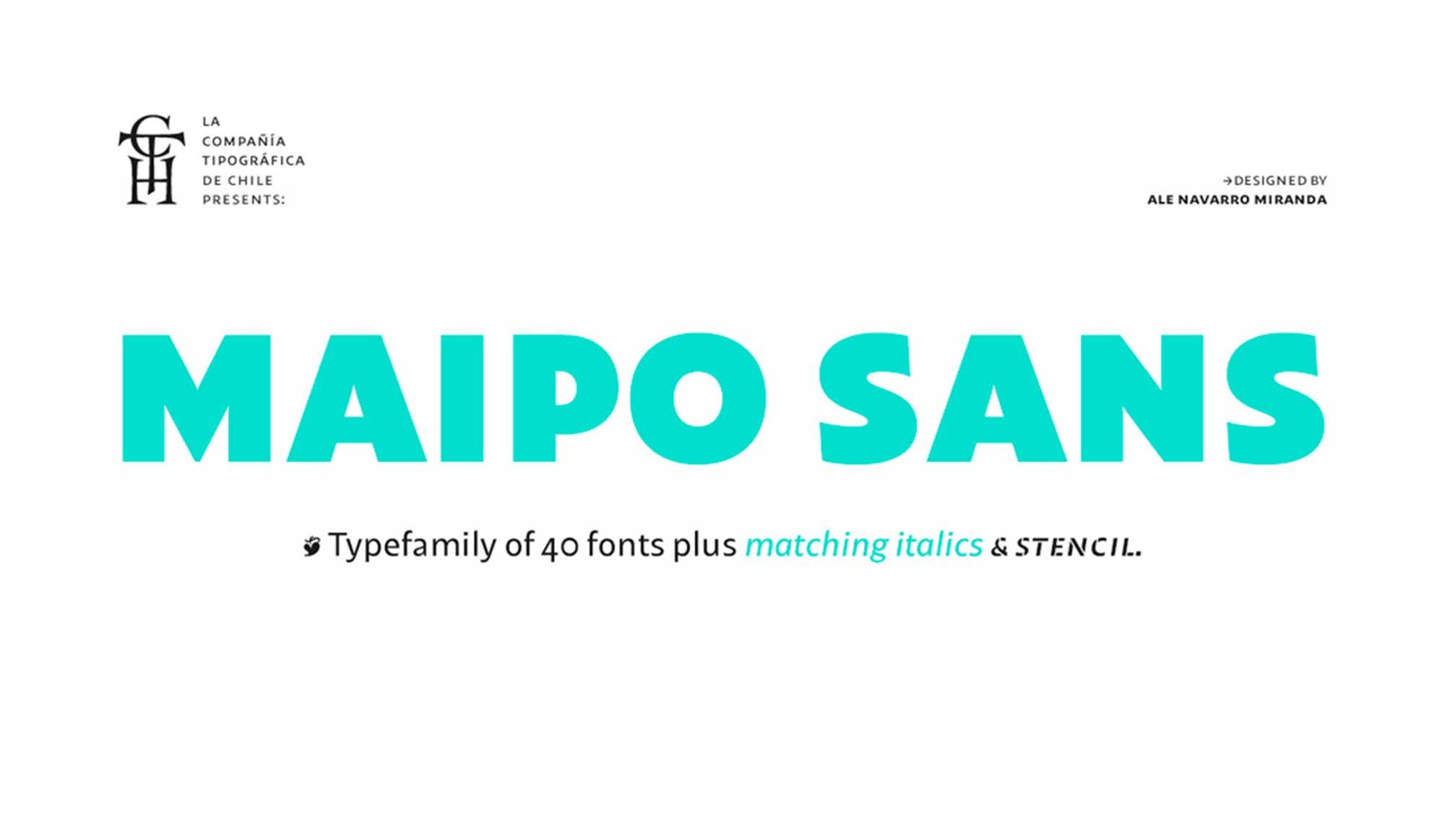 Maipo Sans Font