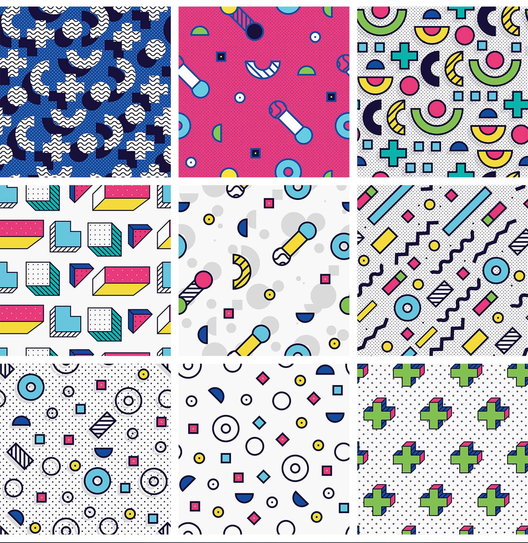 Memphis Patterns