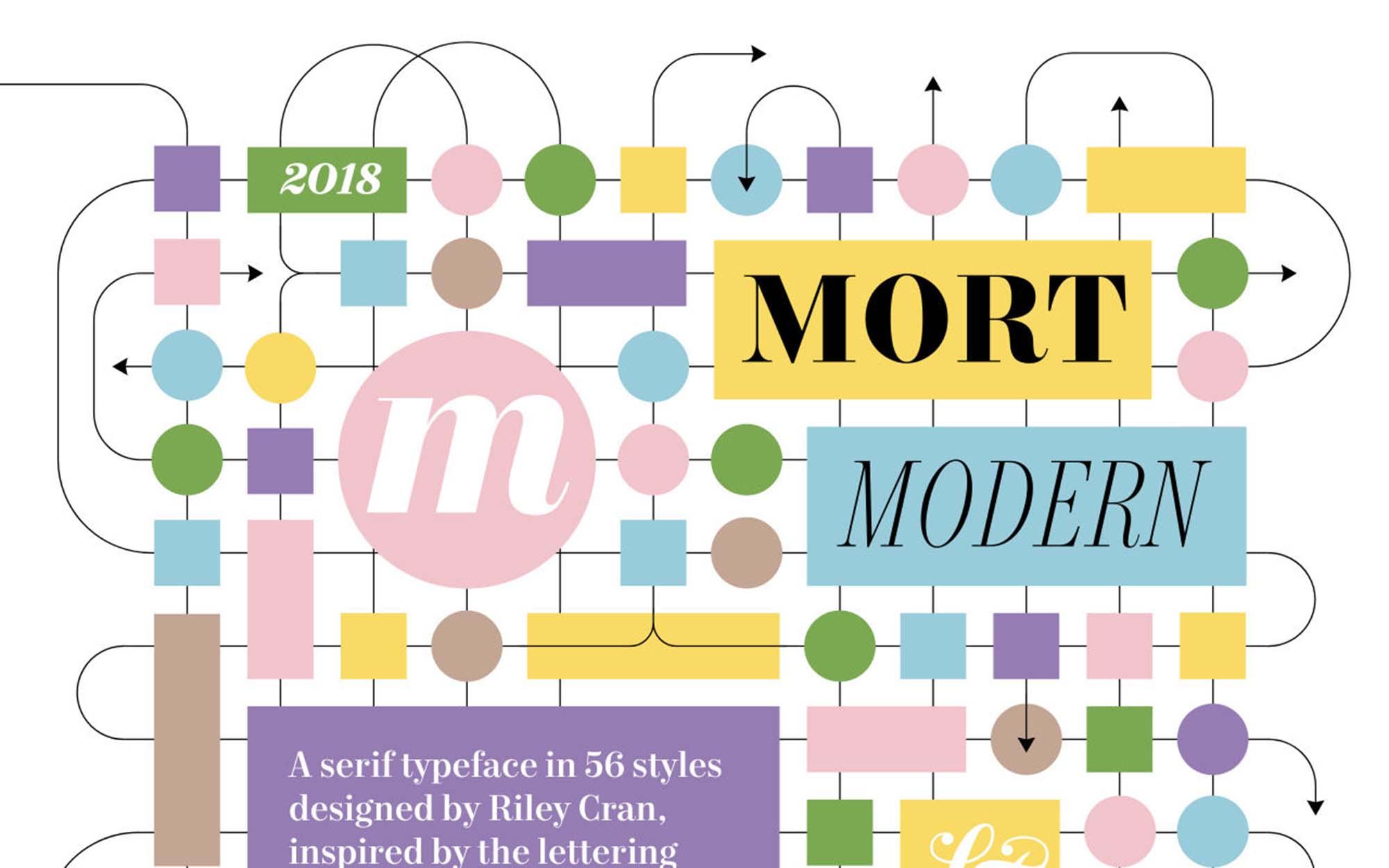 Mort Modern Font