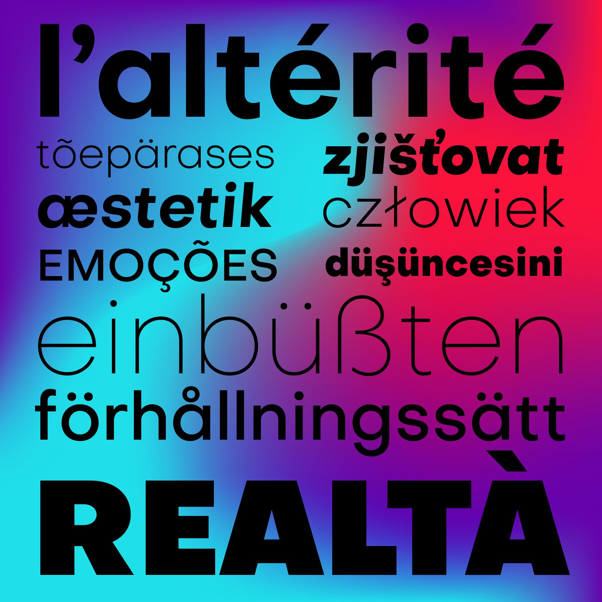 Objectivity Font