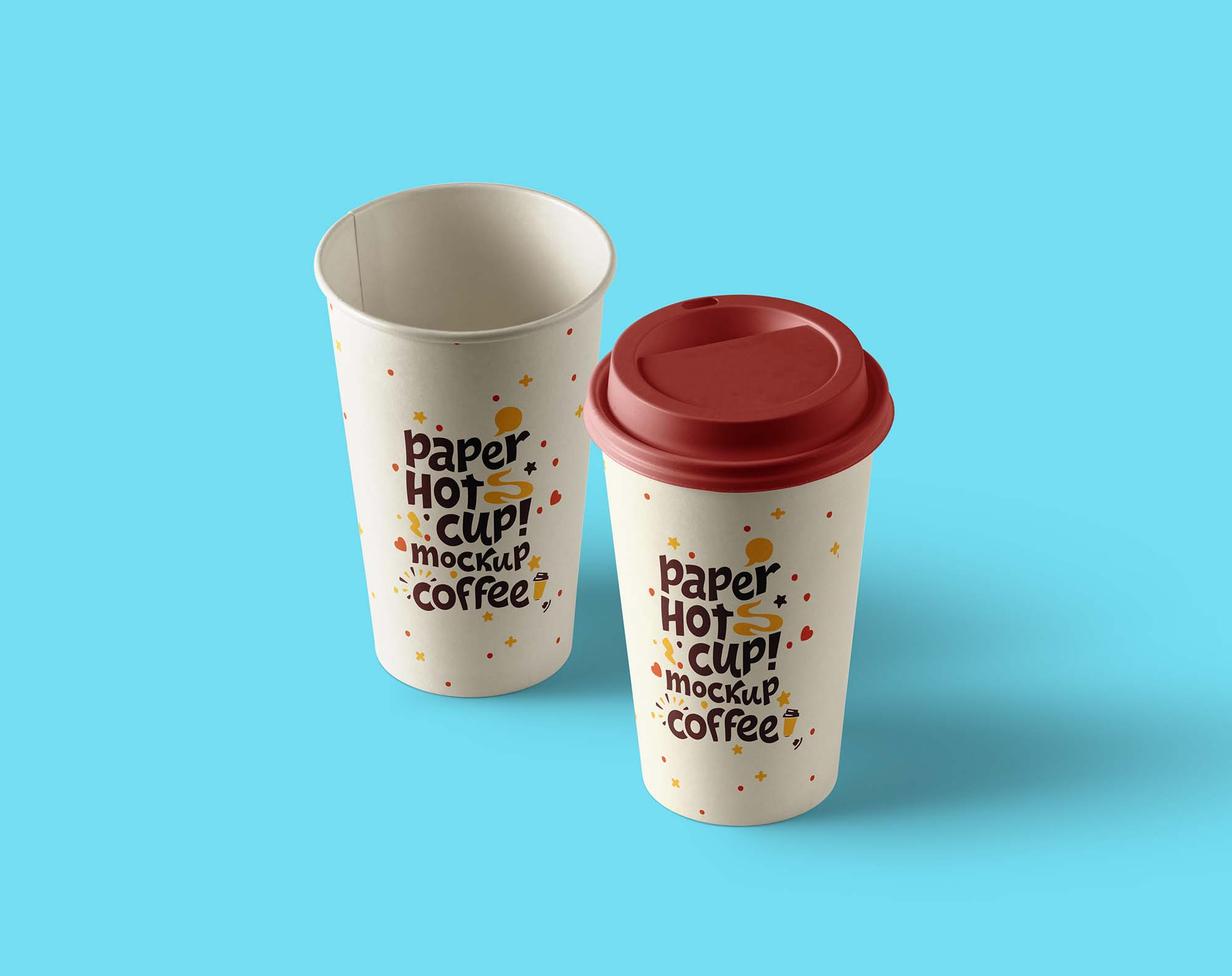 Paper Hot Cup Mockup