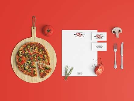 Restaurant Stationery Mockup
