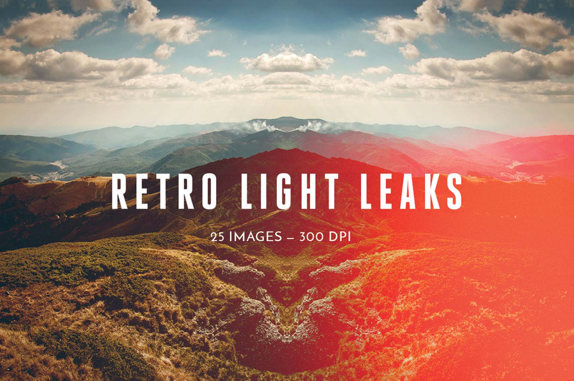 Retro Light Leaks Effect