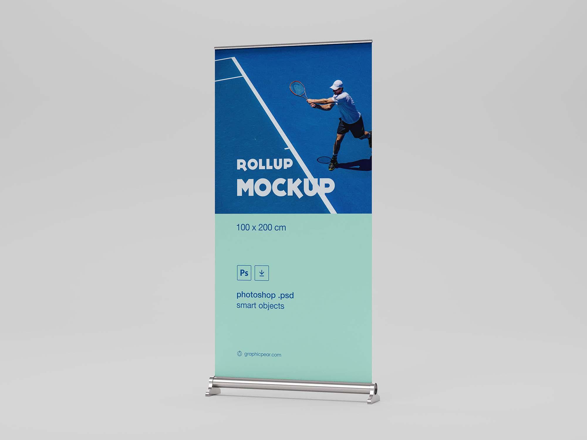 Rollup Mockup (100 x 200)