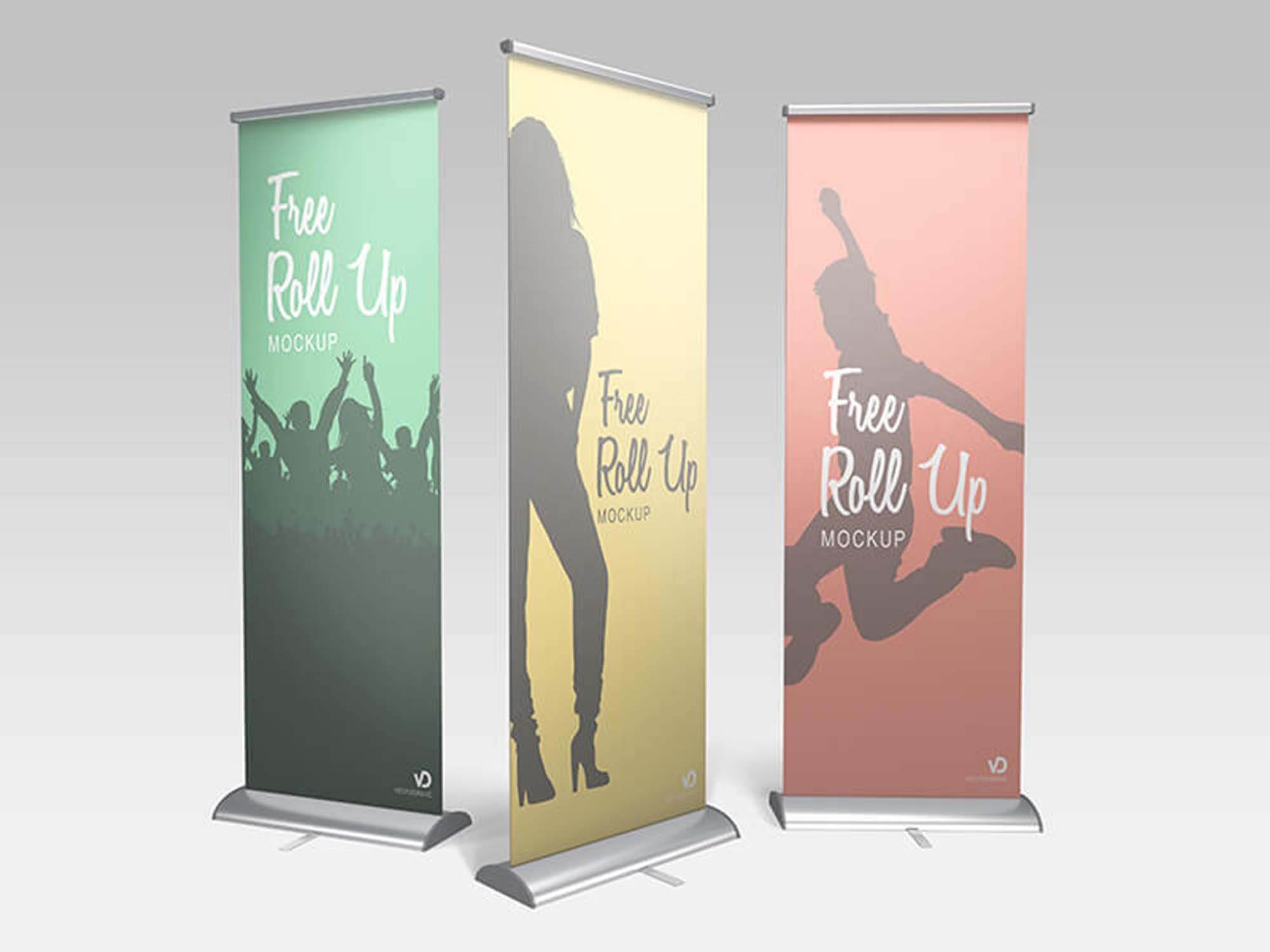 Summary -> Free Trade Show Booth Mockup In Psd