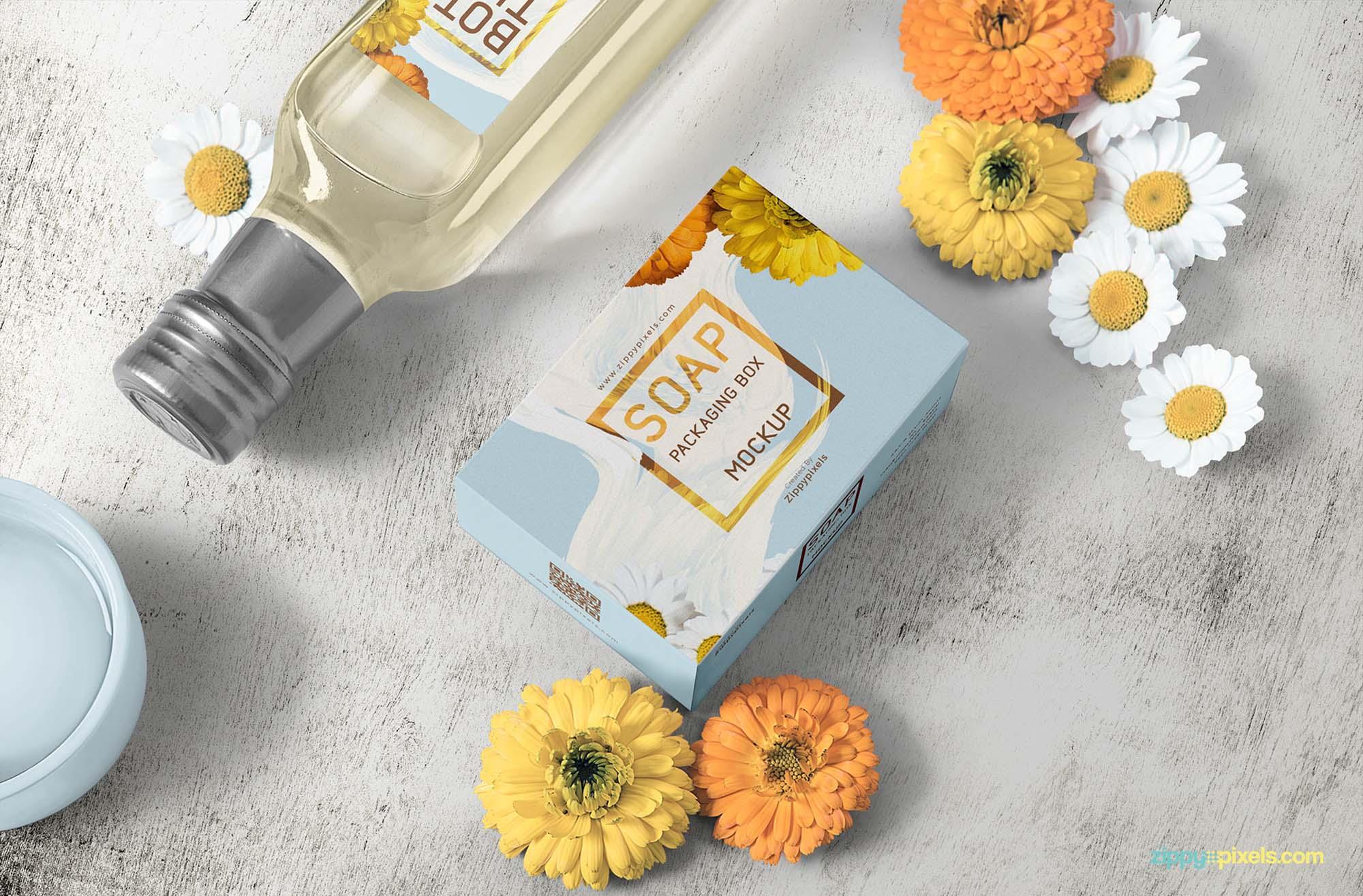 Soap Packaging Mockup