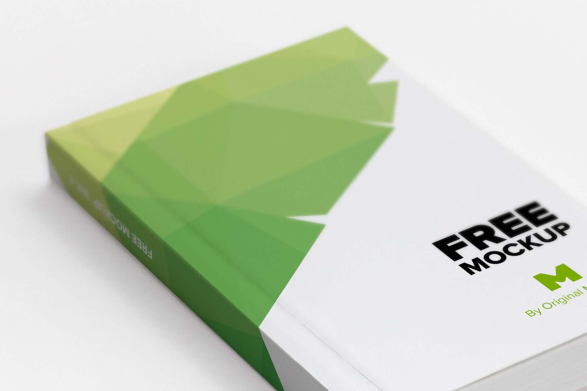 Softcover Trade Book Mockup