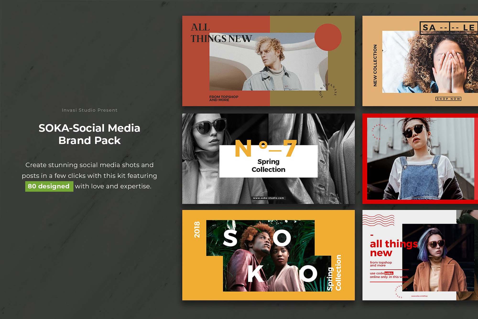 Soka Social Media Pack