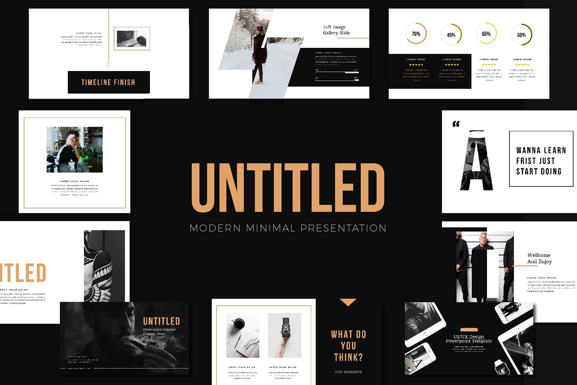 untitled free powerpoint presentation template