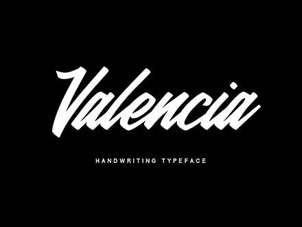 Valencia Typeface