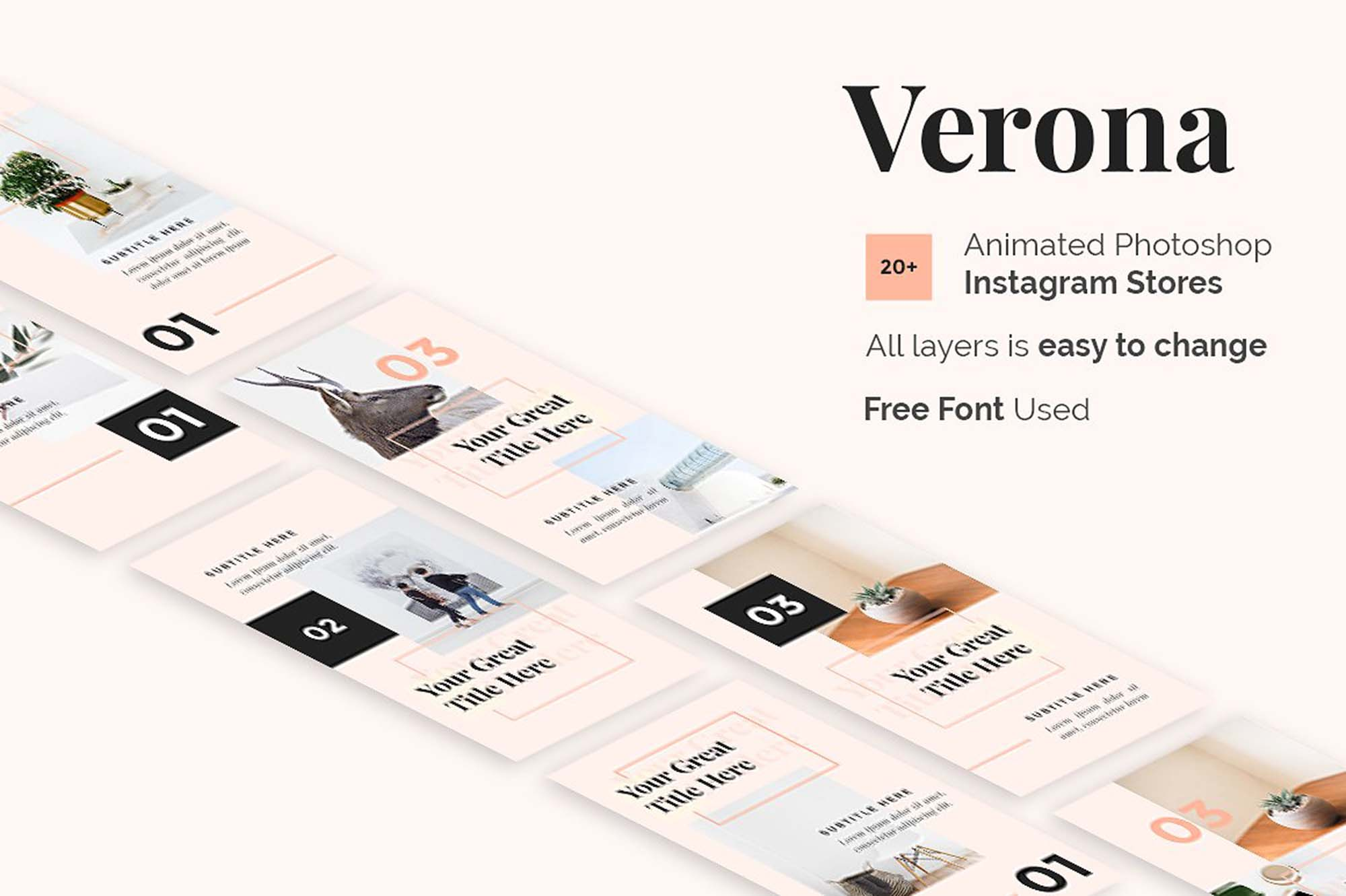 Verona Animated Instagram Story