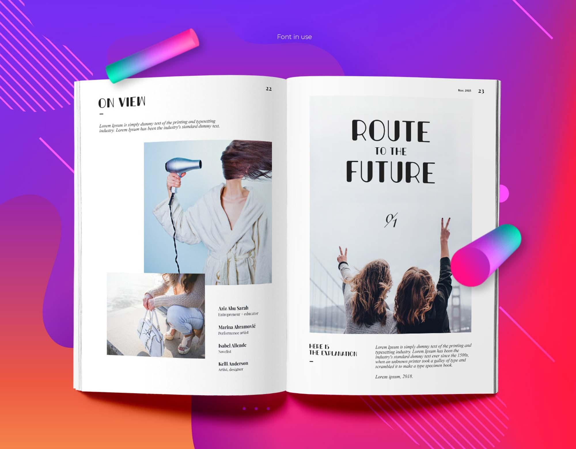 Bondi Font Publications