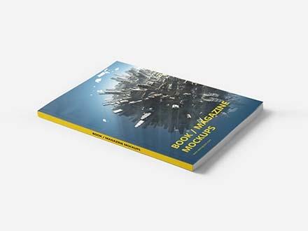 Book - Magazine Mockup