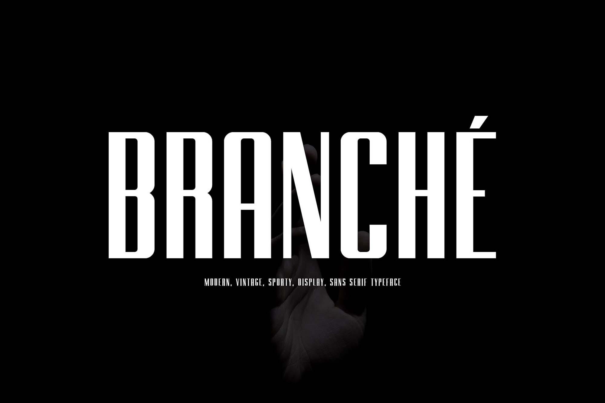Branche Typeface