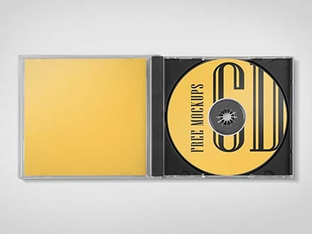 CD Jewel Case Mockups