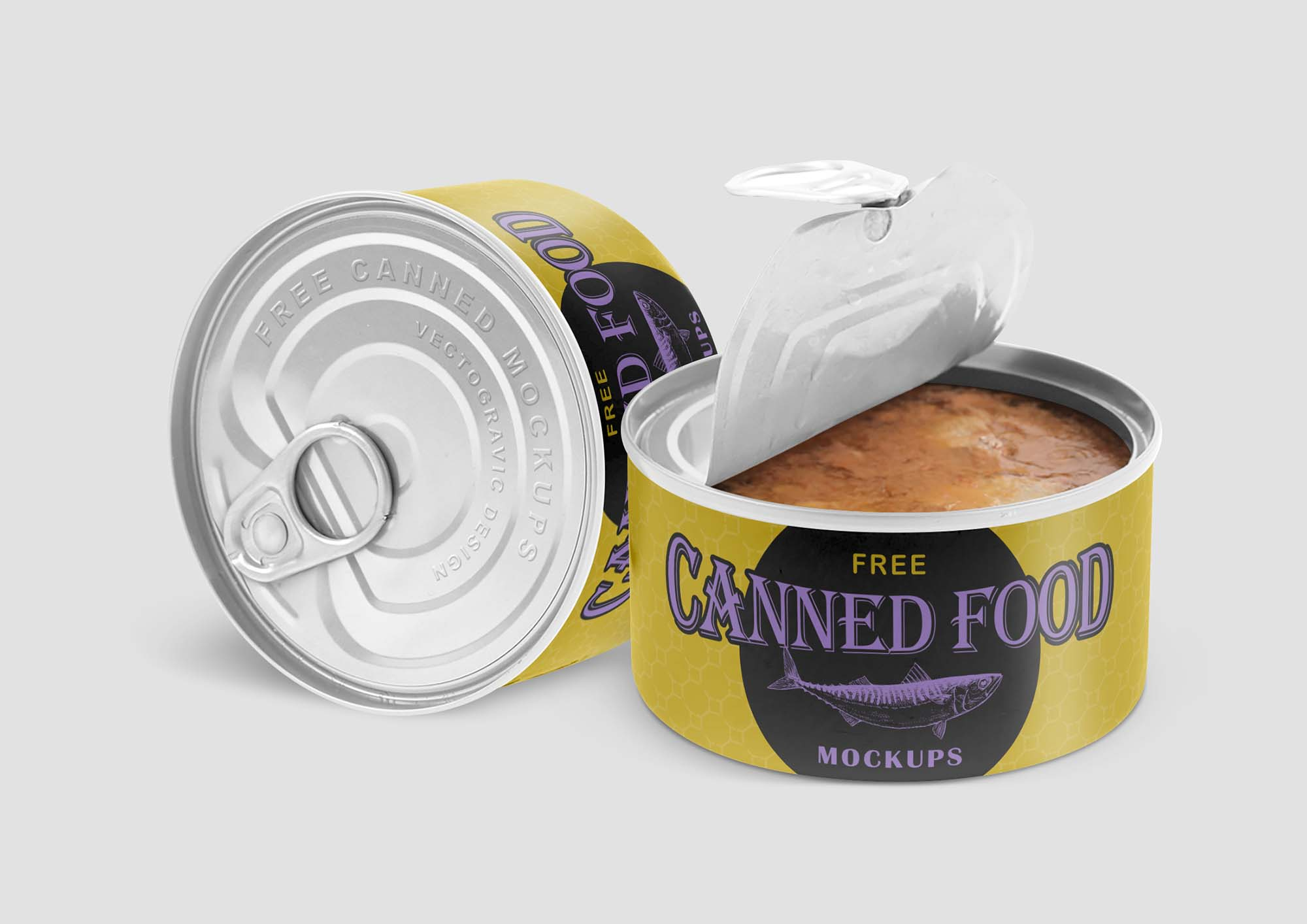 Canned Food Mockup