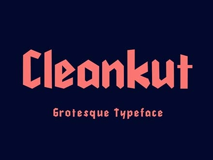 Cleankut Font