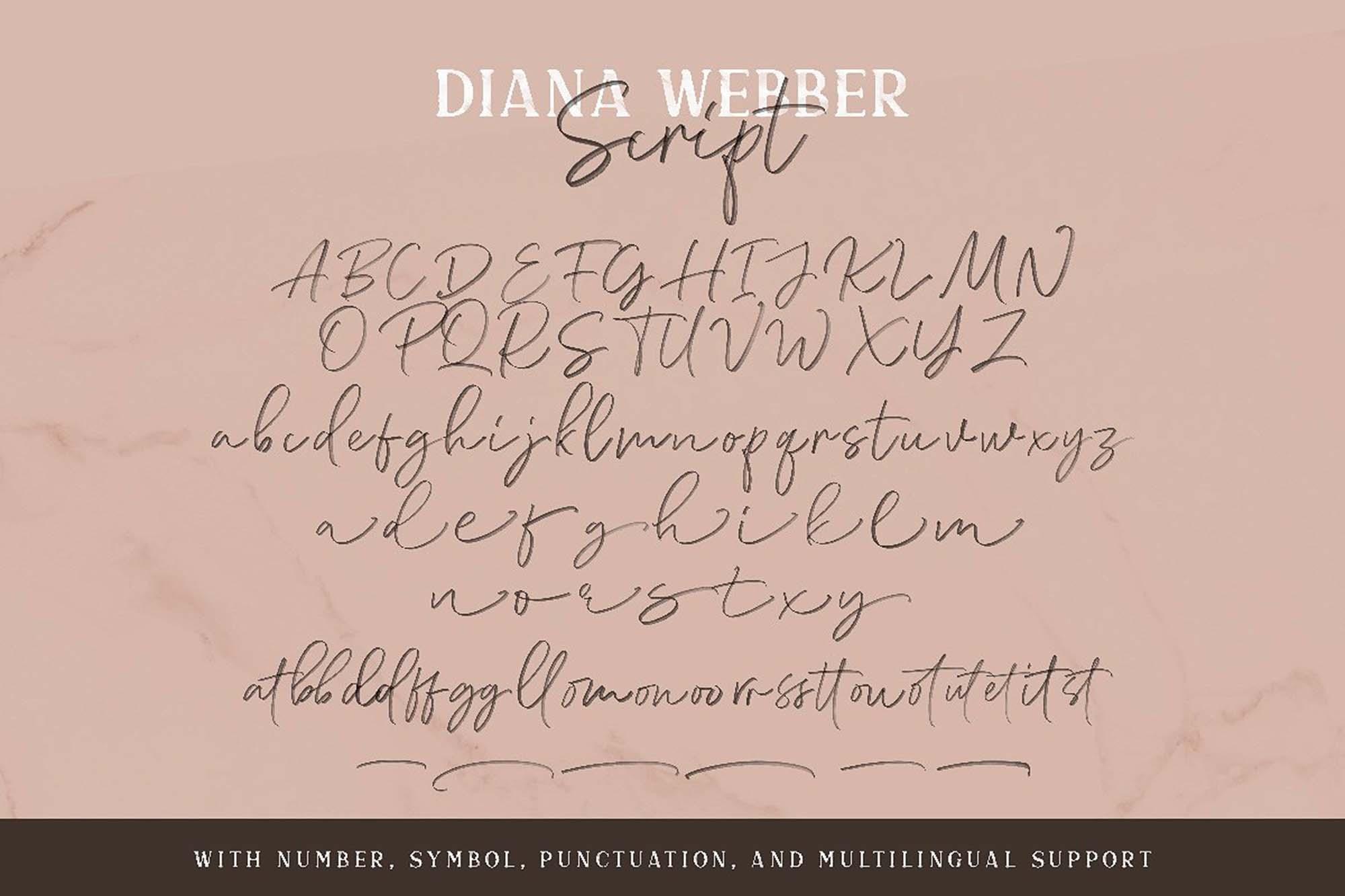 Diana Webber Font