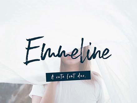 Emmeline Brush Font