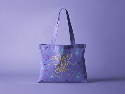 Fabric Tote Bag Mockup