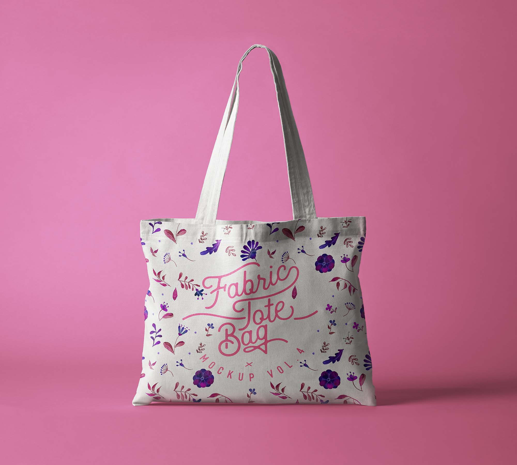 Fabric Tote Bag Mockup