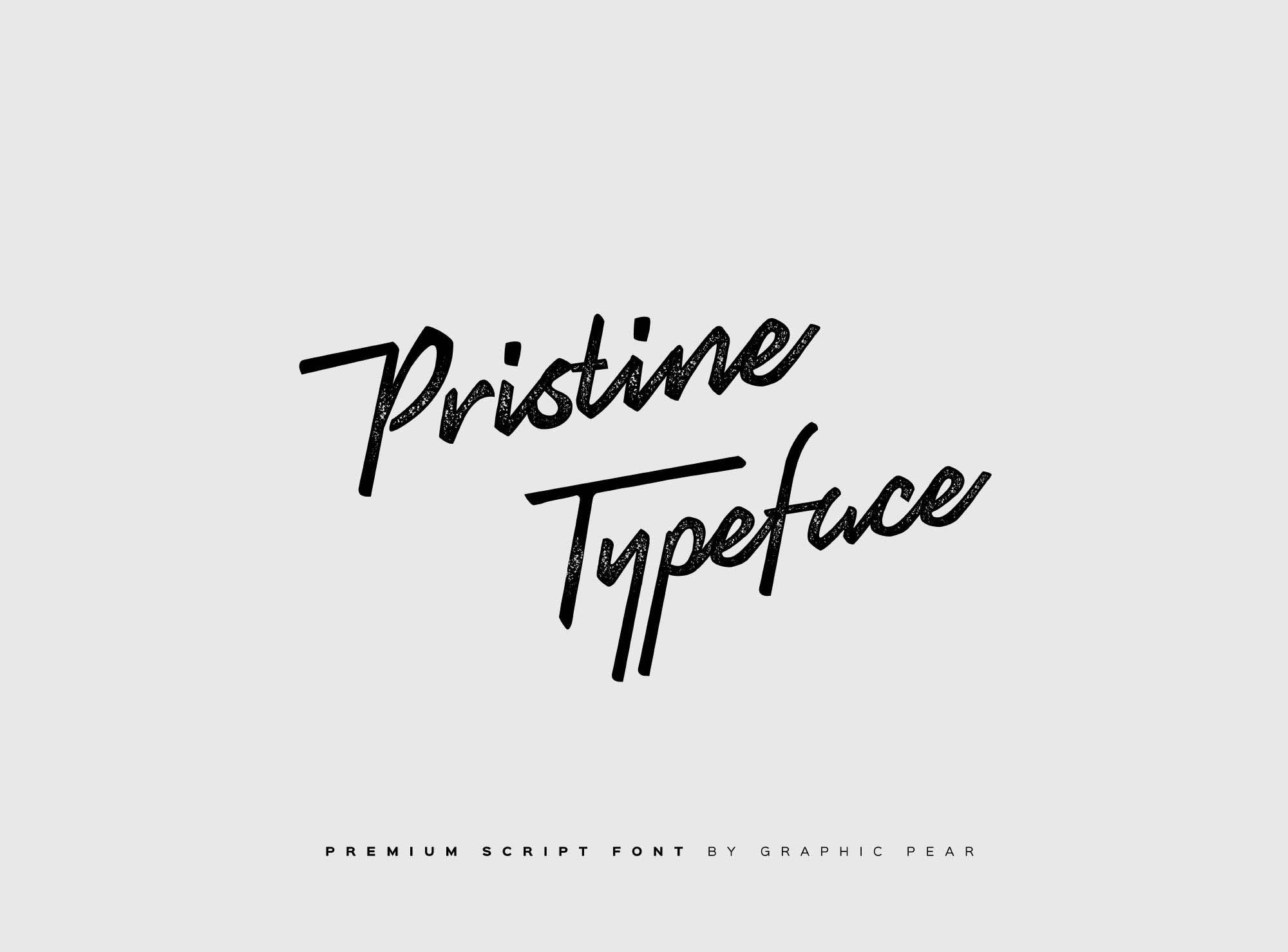 Pristine Typeface