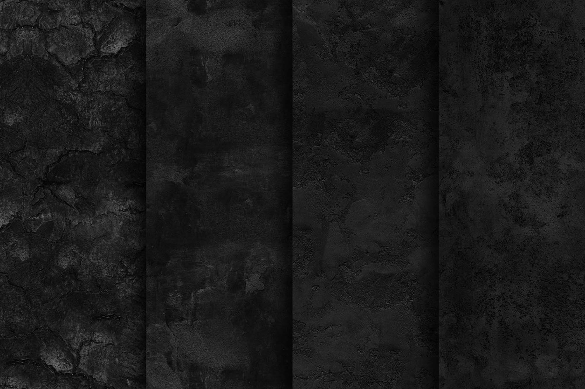 Seamless Black Textures