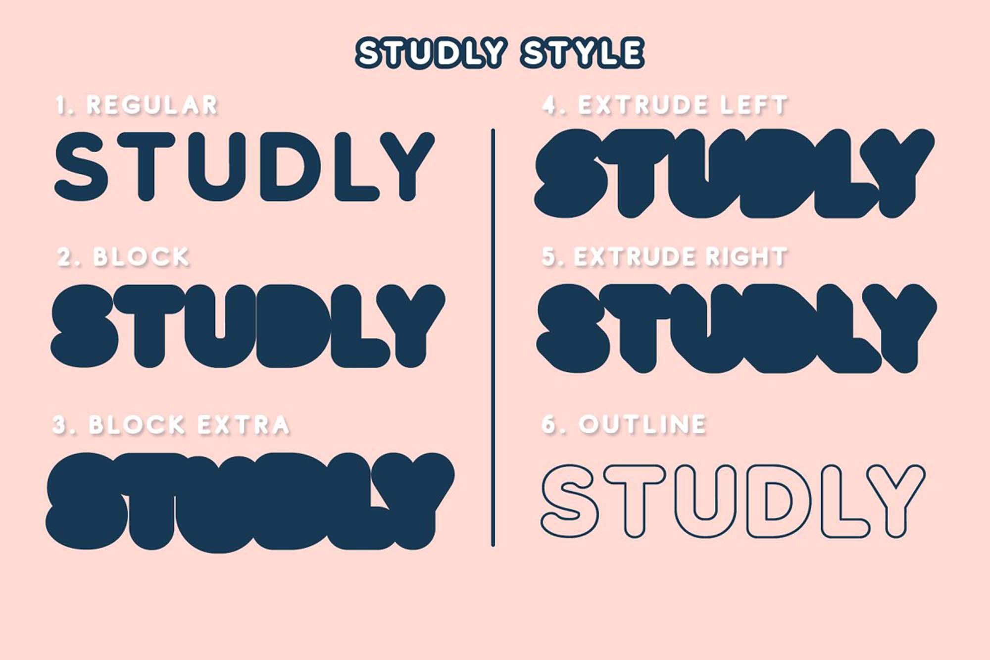 Studly Font