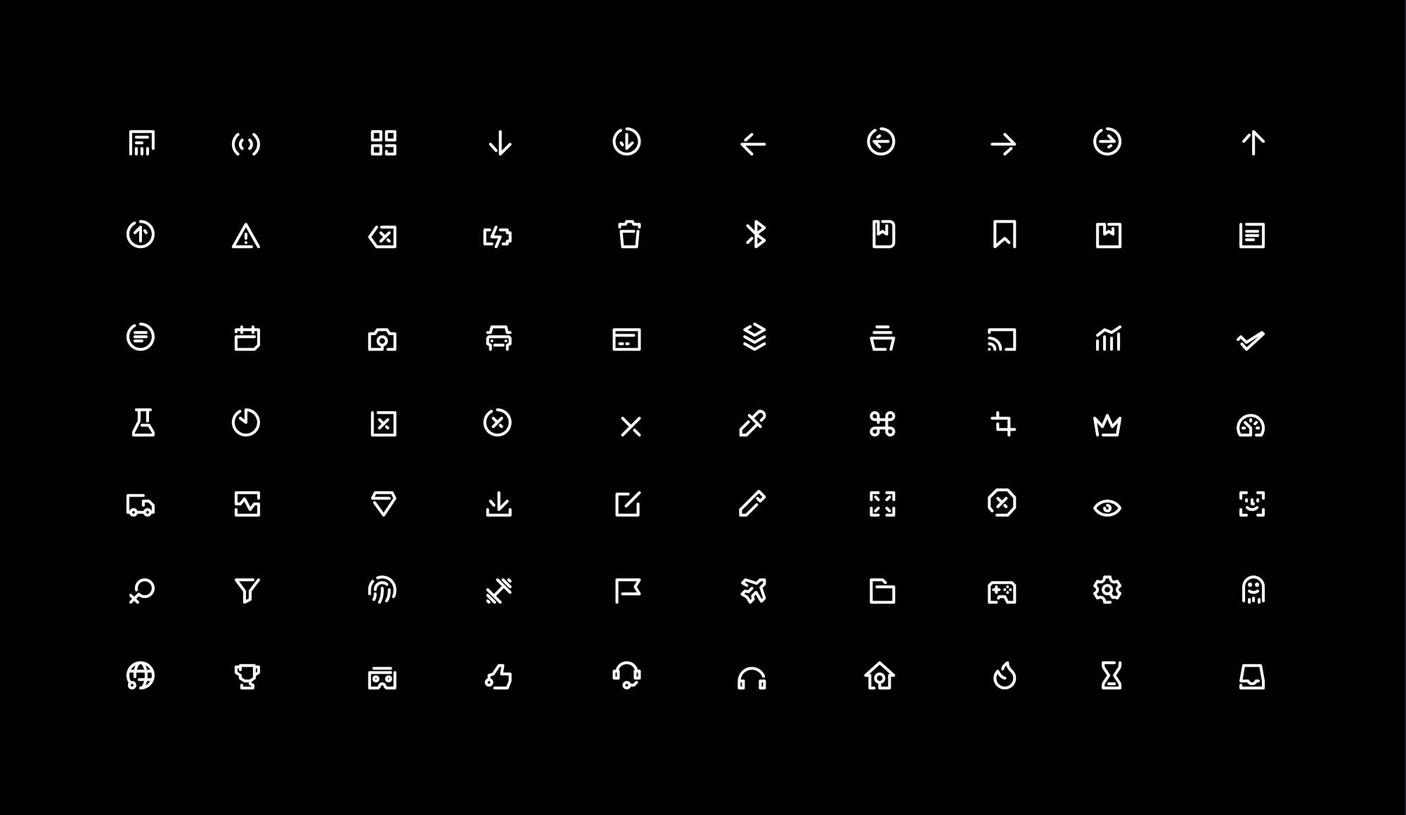 Unicon Line Icons