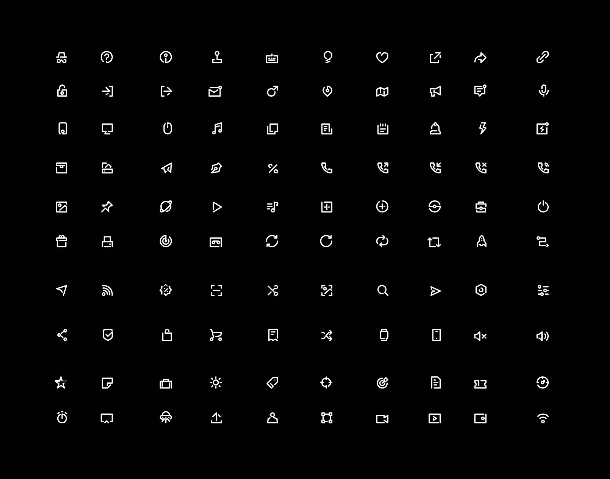 Unicon Line Icons