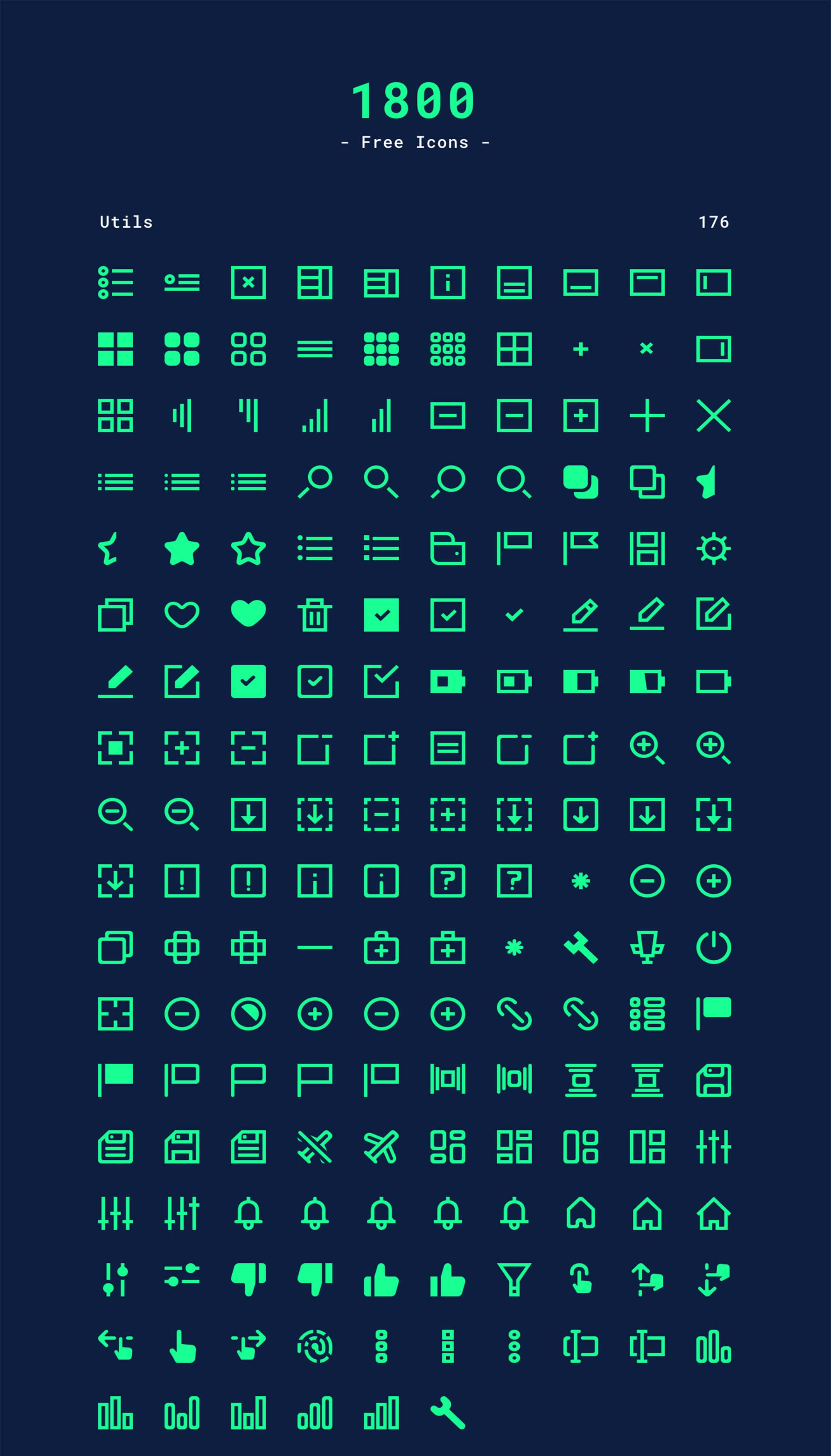 Utils Icons