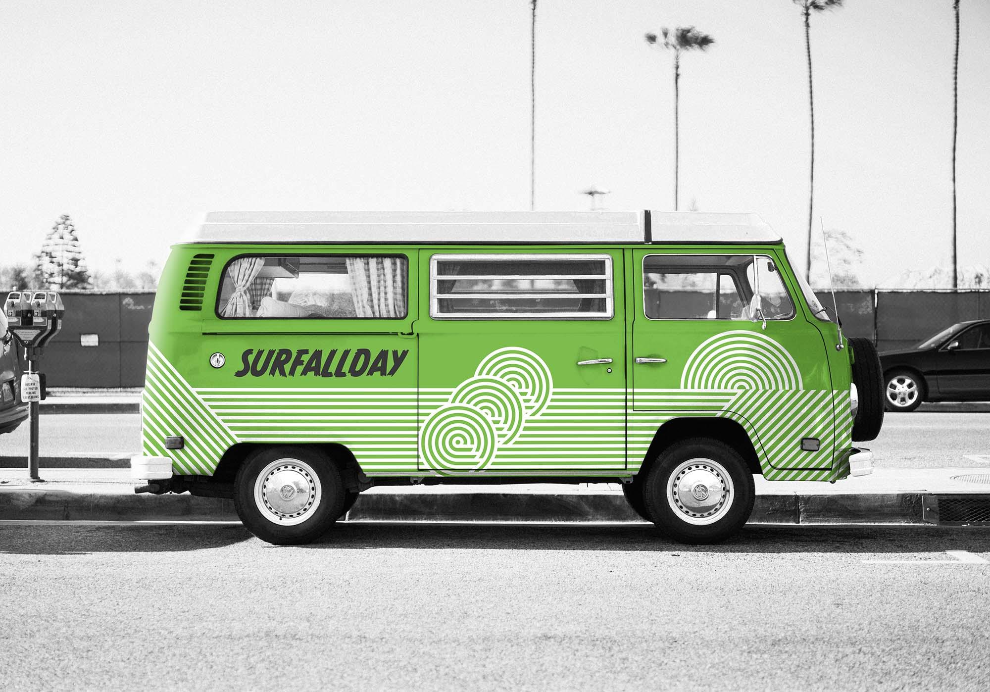 Volkswagen Car Mockup