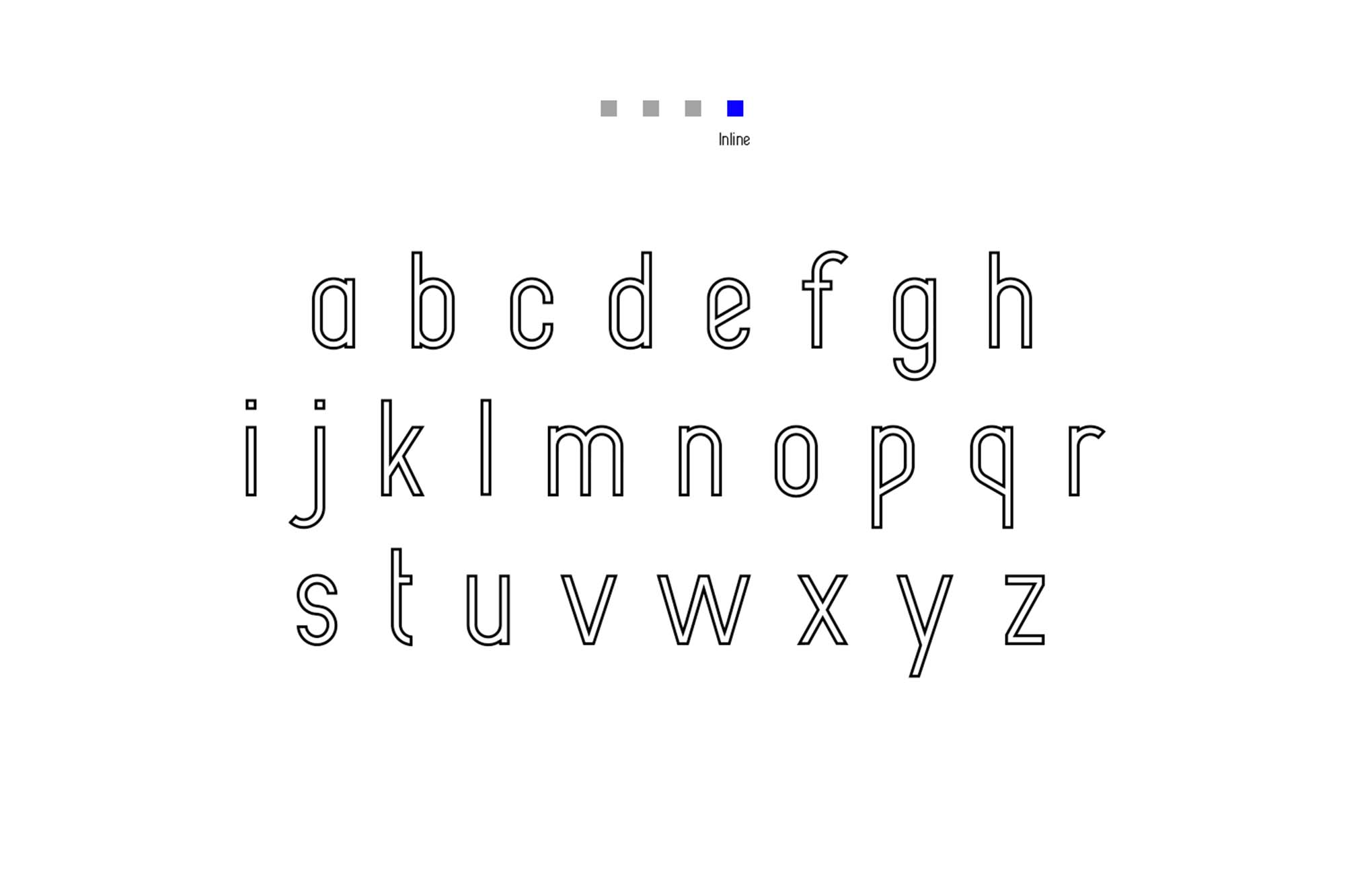 Alpha Font Family Inline
