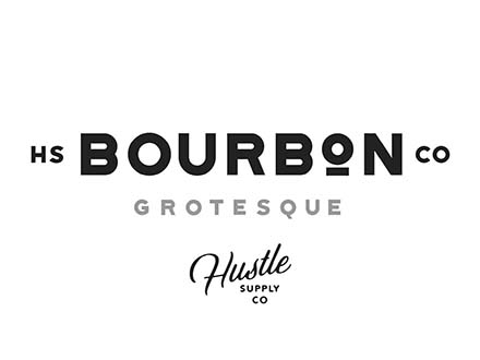 Bourbon Grotesque Font