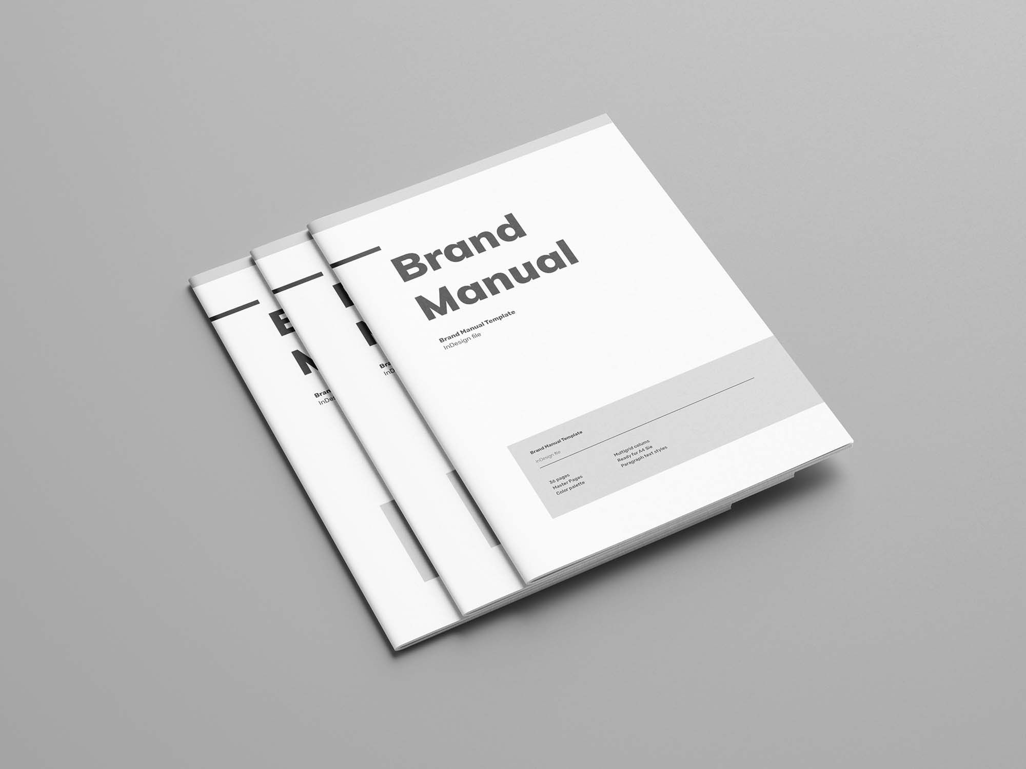 Free Brand Manual Template (Indesign)