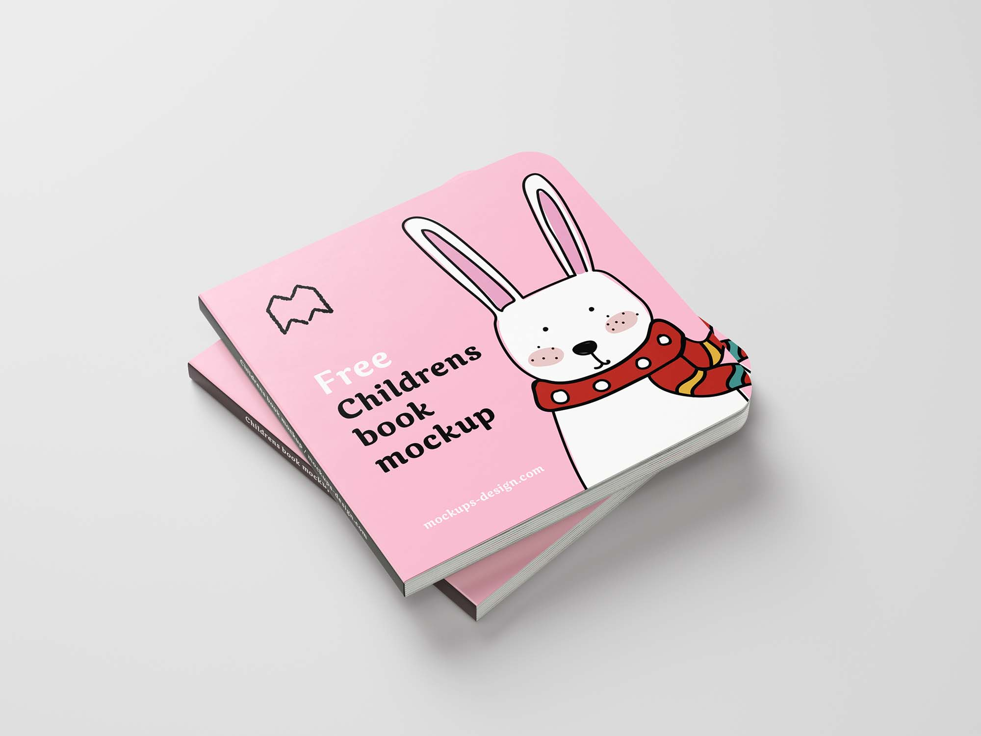Children's Book Mockup
