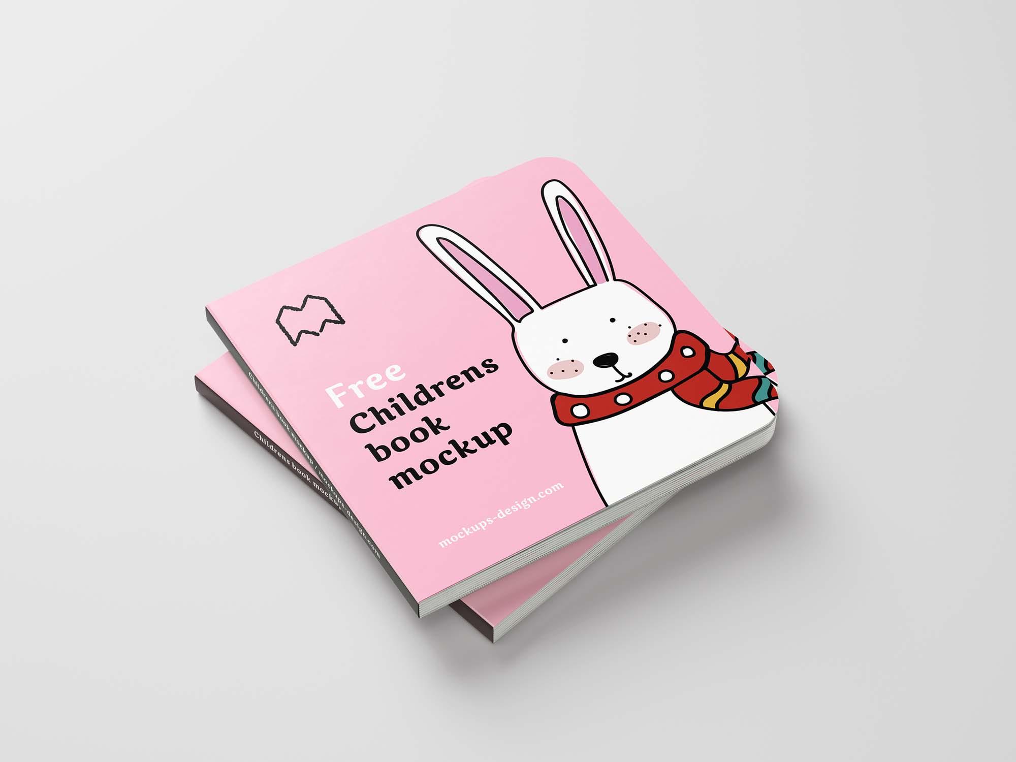 Children's Book Mockup