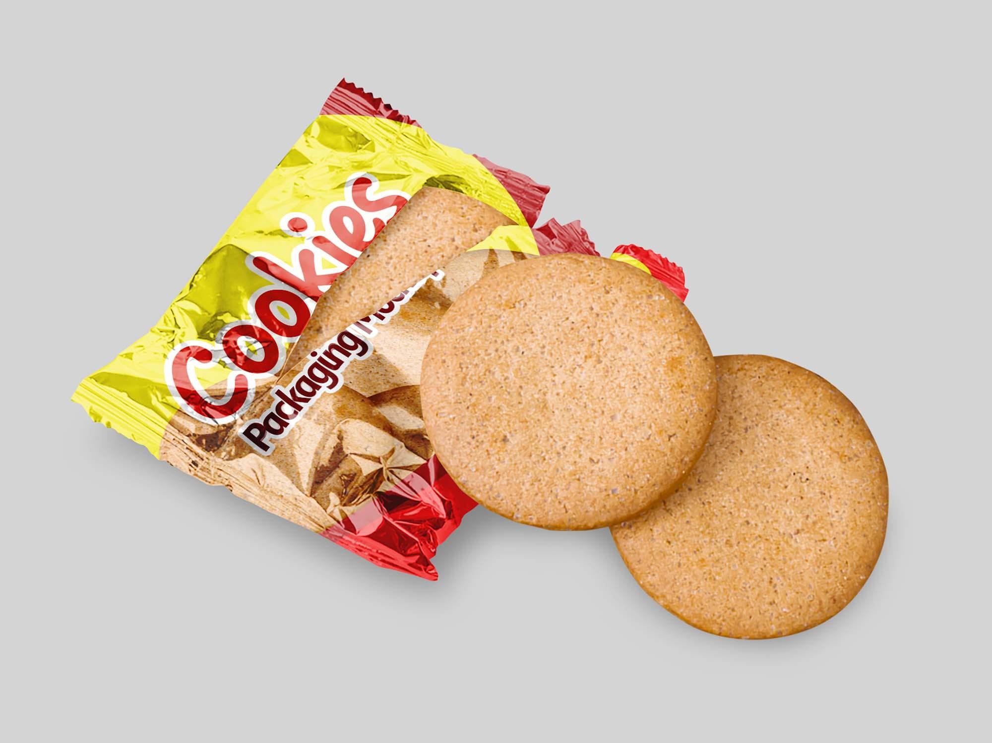 Cookies Packaging Mockup