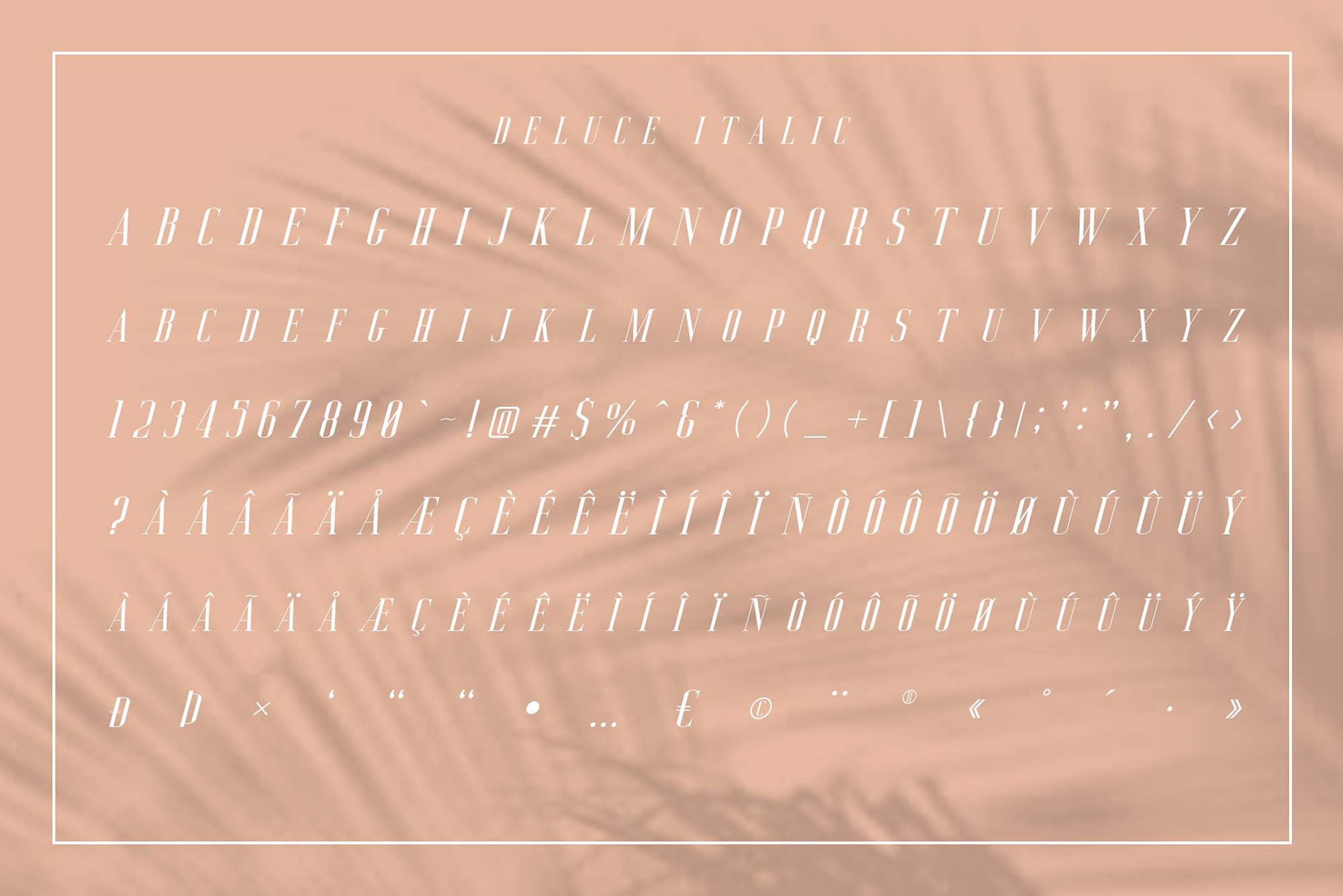 Deluce Font