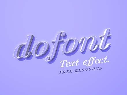 DoFont Text Effect