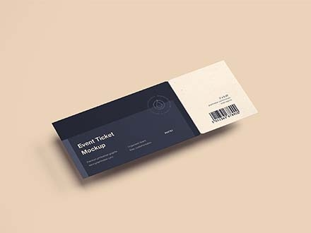 Event Ticket Mockup