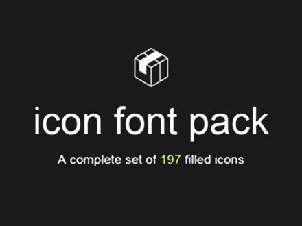 Filled Icons Pack