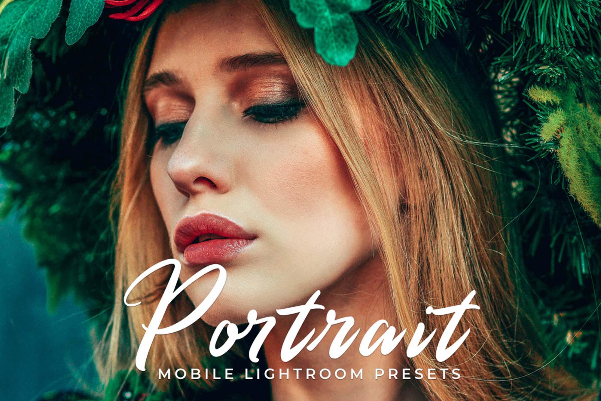 Portrait Mobile Lightroom Presets